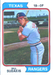 1974 Topps Baseball Cards      063      Bill Sudakis