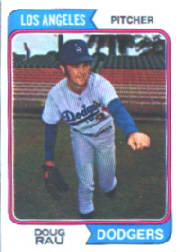 1974 Topps Baseball Cards      064      Doug Rau