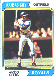 1974 Topps Baseball Cards      065      Amos Otis