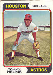 1974 Topps Baseball Cards      067      Tommy Helms