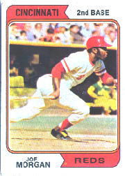 1974 Topps Baseball Cards      085      Joe Morgan