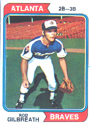 1974 Topps Baseball Cards      093      Rod Gilbreath RC