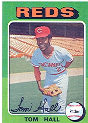 1975 Topps Baseball Cards      108     Tom Hall