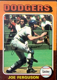 1975 Topps Mini Baseball Cards      115     Joe Ferguson