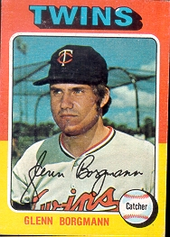 1975 Topps Mini Baseball Cards      127     Glenn Borgmann