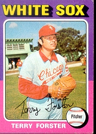 1975 Topps Baseball Cards      137     Terry Forster