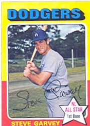1975 Topps Baseball Cards      140     Steve Garvey