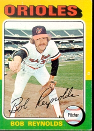 1975 Topps Mini Baseball Cards      142     Bob Reynolds