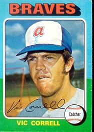 1975 Topps Mini Baseball Cards      177     Vic Correll RC