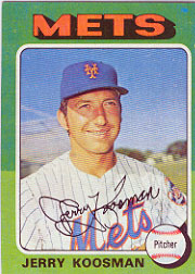 1975 Topps Baseball Cards      019      Jerry Koosman