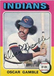 1975 Topps Baseball Cards      213     Oscar Gamble