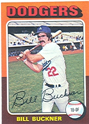 1975 Topps Mini Baseball Cards      244     Bill Buckner