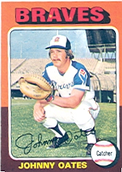 1975 Topps Baseball Cards      319     Johnny Oates