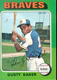 1975 Topps Baseball Cards      033      Dusty Baker