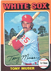 1975 Topps Mini Baseball Cards      348     Tony Muser
