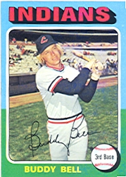 1975 Topps Mini Baseball Cards      038      Buddy Bell