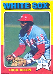 1975 Topps Baseball Cards      400     Dick Allen