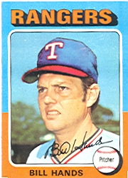 1975 Topps Mini Baseball Cards      412     Bill Hands