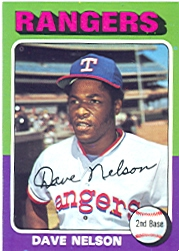 1975 Topps Mini Baseball Cards      435     Dave Nelson