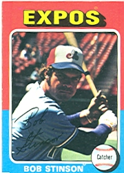 1975 Topps Mini Baseball Cards      471     Bob Stinson