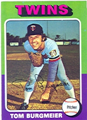 1975 Topps Mini Baseball Cards      478     Tom Burgmeier