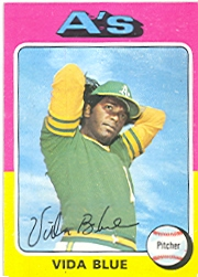 1975 Topps Baseball Cards      510     Vida Blue