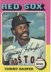 1975 Topps Mini Baseball Cards      537     Tommy Harper
