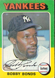 1975 Topps Baseball Cards      055      Bobby Bonds
