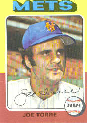 1975 Topps Mini Baseball Cards      565     Joe Torre
