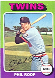 1975 Topps Mini Baseball Cards      576     Phil Roof