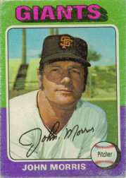 1975 Topps Mini Baseball Cards      577     John Morris