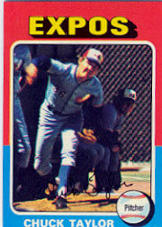 1975 Topps Mini Baseball Cards      058      Chuck Taylor