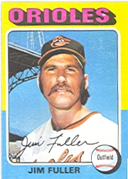 1975 Topps Baseball Cards      594     Jim Fuller