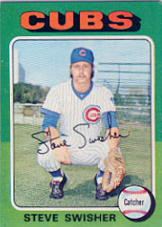 1975 Topps Mini Baseball Cards      063      Steve Swisher RC