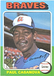 1975 Topps Baseball Cards      633     Paul Casanova
