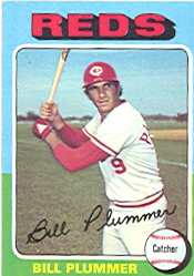 1975 Topps Baseball Cards      656     Bill Plummer