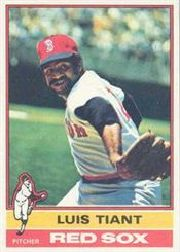 1976 Topps Baseball Cards      130     Luis Tiant