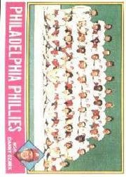 1976 Topps Baseball Cards      384     Philadelphia Phillies CL/Danny Ozark
