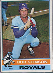 1976 Topps Baseball Cards      466     Bob Stinson