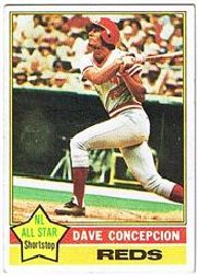 1976 Topps Baseball Cards      048      Dave Concepcion