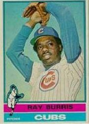 1976 Topps Baseball Cards      051      Ray Burris