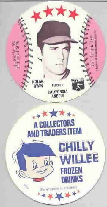 1977 Chilly Willee Discs