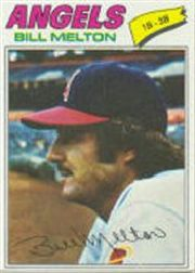 1977 Topps Baseball Cards      107     Bill Melton