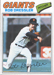 1977 Topps Baseball Cards      011      Rob Dressler