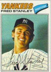 1977 Topps Baseball Cards      123     Fred Stanley