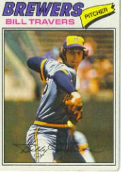 1977 Topps Baseball Cards      125     Bill Travers