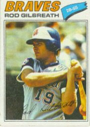 1977 Topps Baseball Cards      126     Rod Gilbreath
