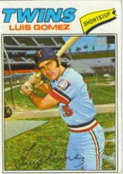 1977 Topps Baseball Cards      013      Luis Gomez RC