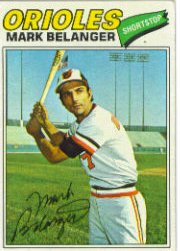 1977 Topps Baseball Cards      135     Mark Belanger