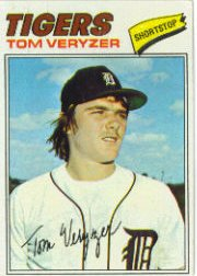 1977 Topps Baseball Cards      145     Tom Veryzer